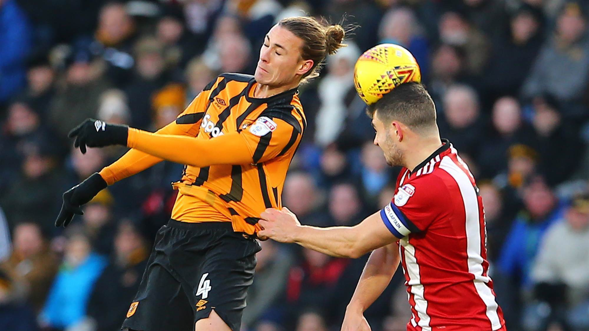 Jackson Irvine nets winner for Hull City