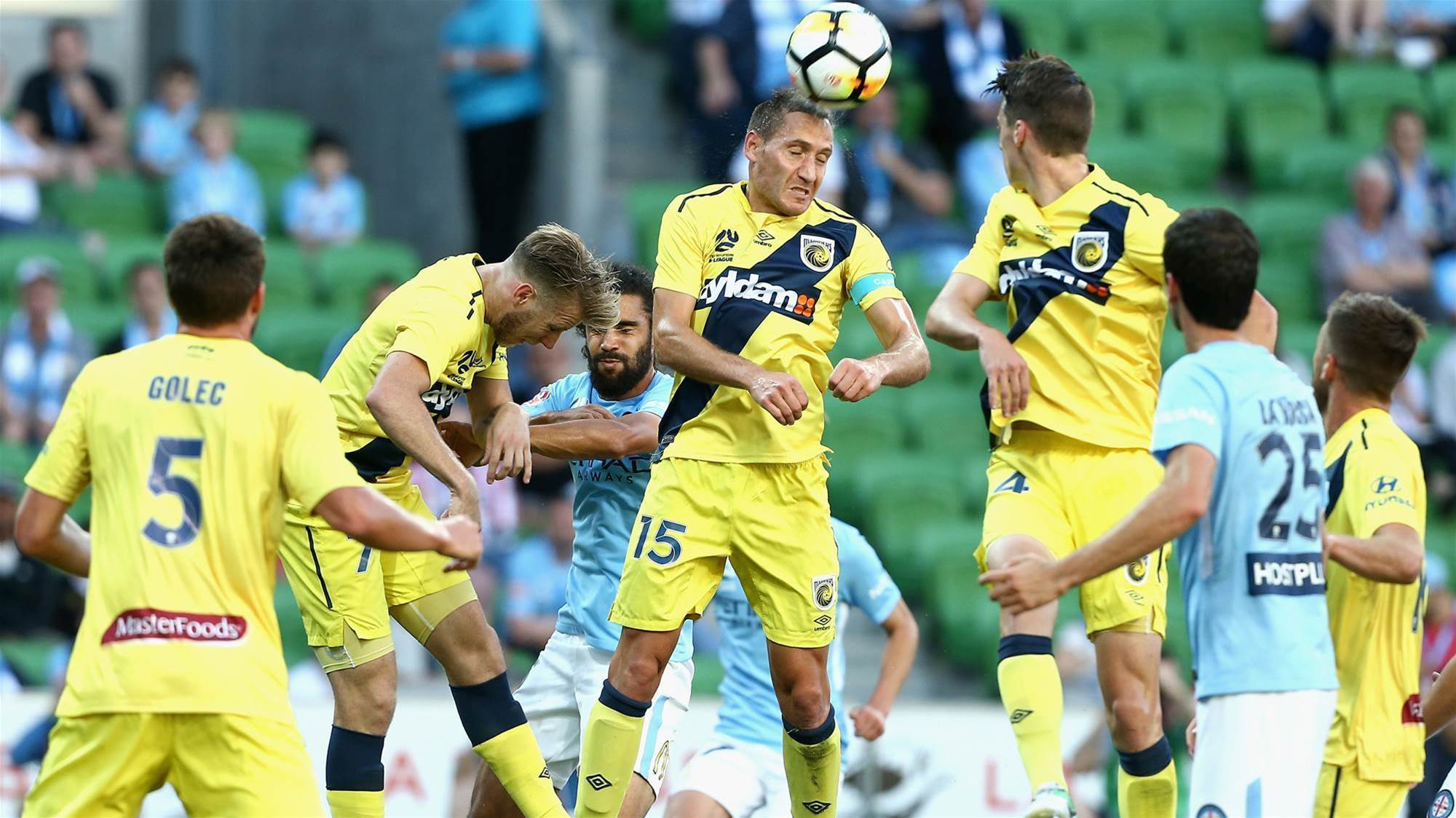 Melbourne City v Central Coast Mariners player ratings