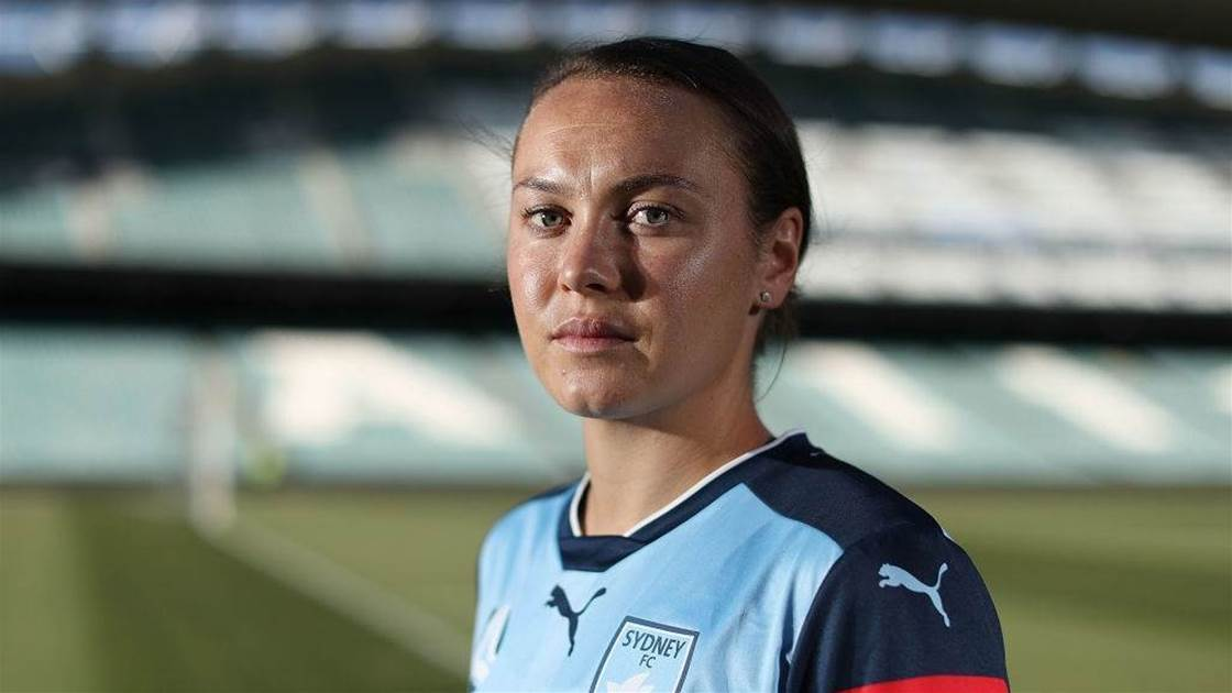 Caitlin Foord: 'I prefer NRL, football's a little boring'