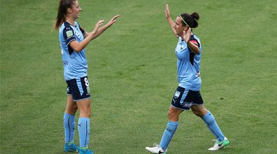 Sydney FC doing it for Amy and Caitlin