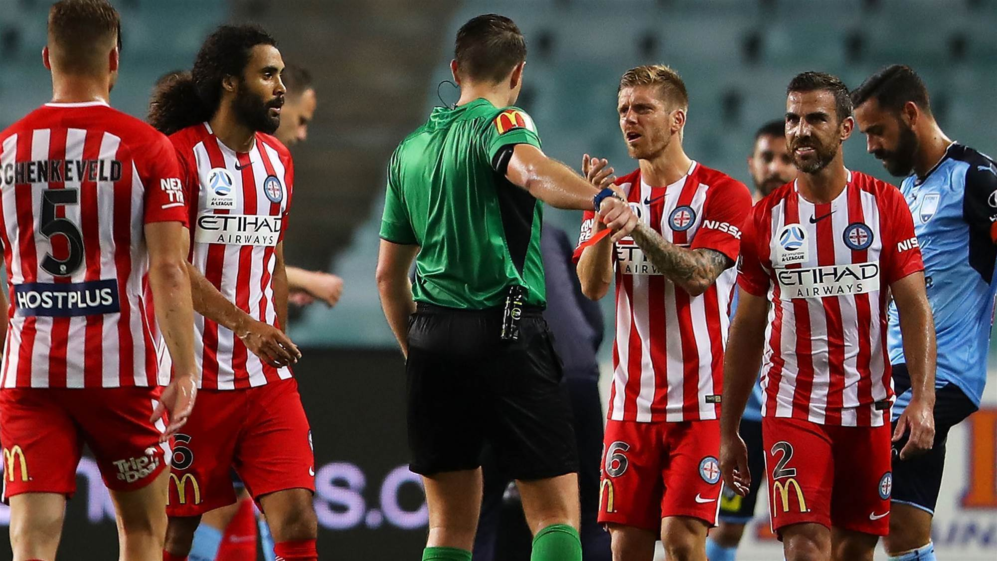 Joyce beyond 'frustrated' by refereeing