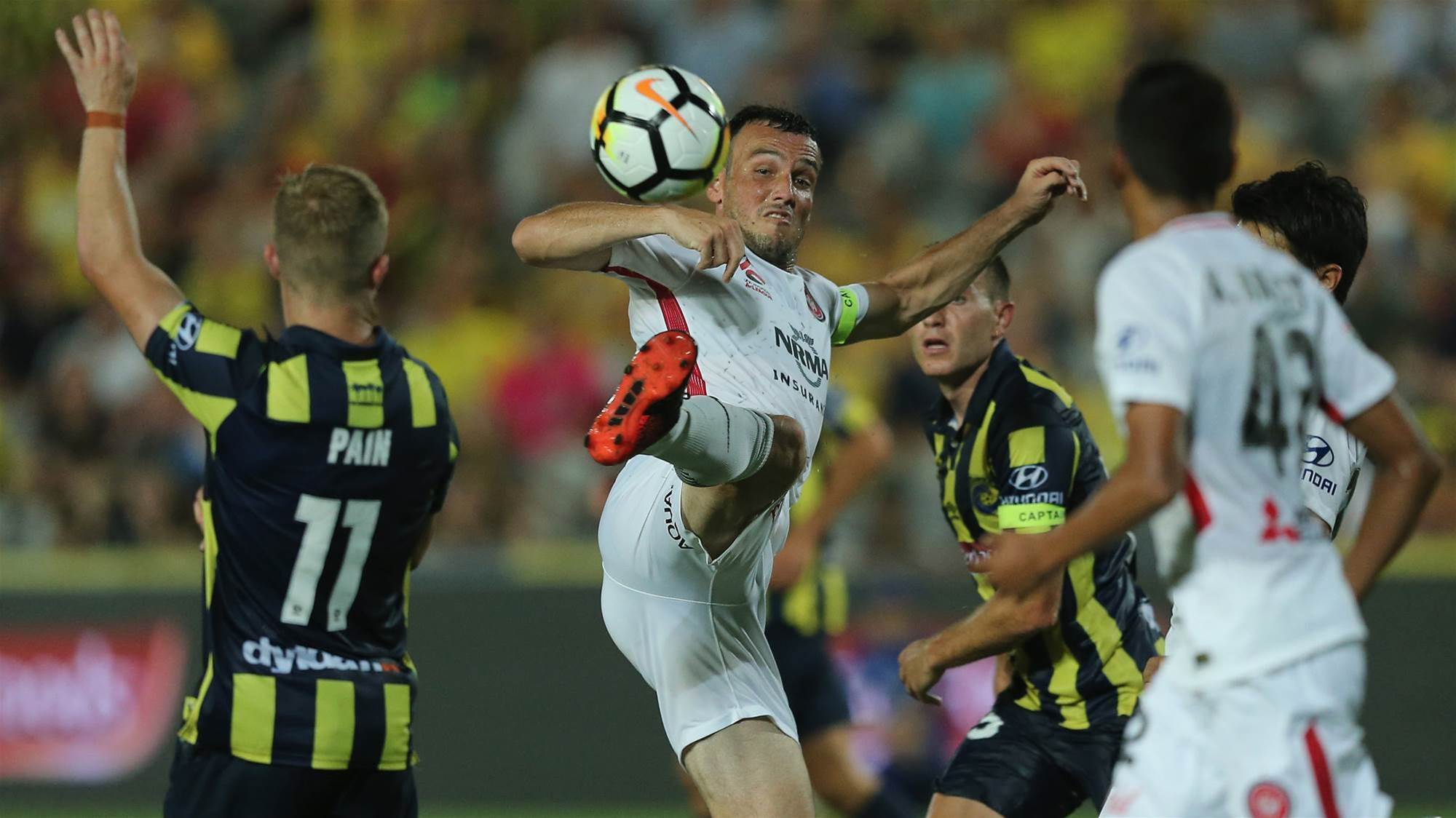 Central Coast Mariners v Western Sydney Wanderers player ratings