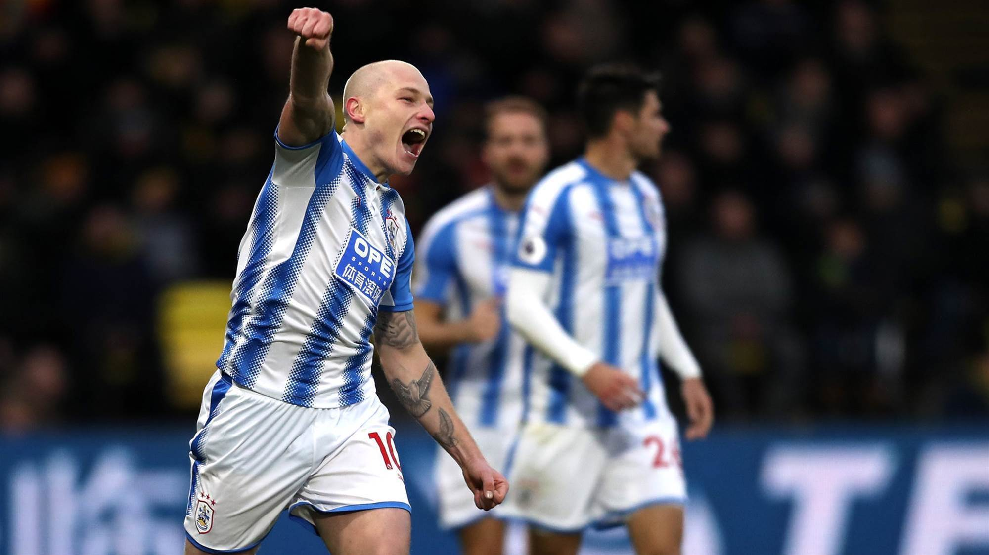 Mooy bags brace in Watford walkover
