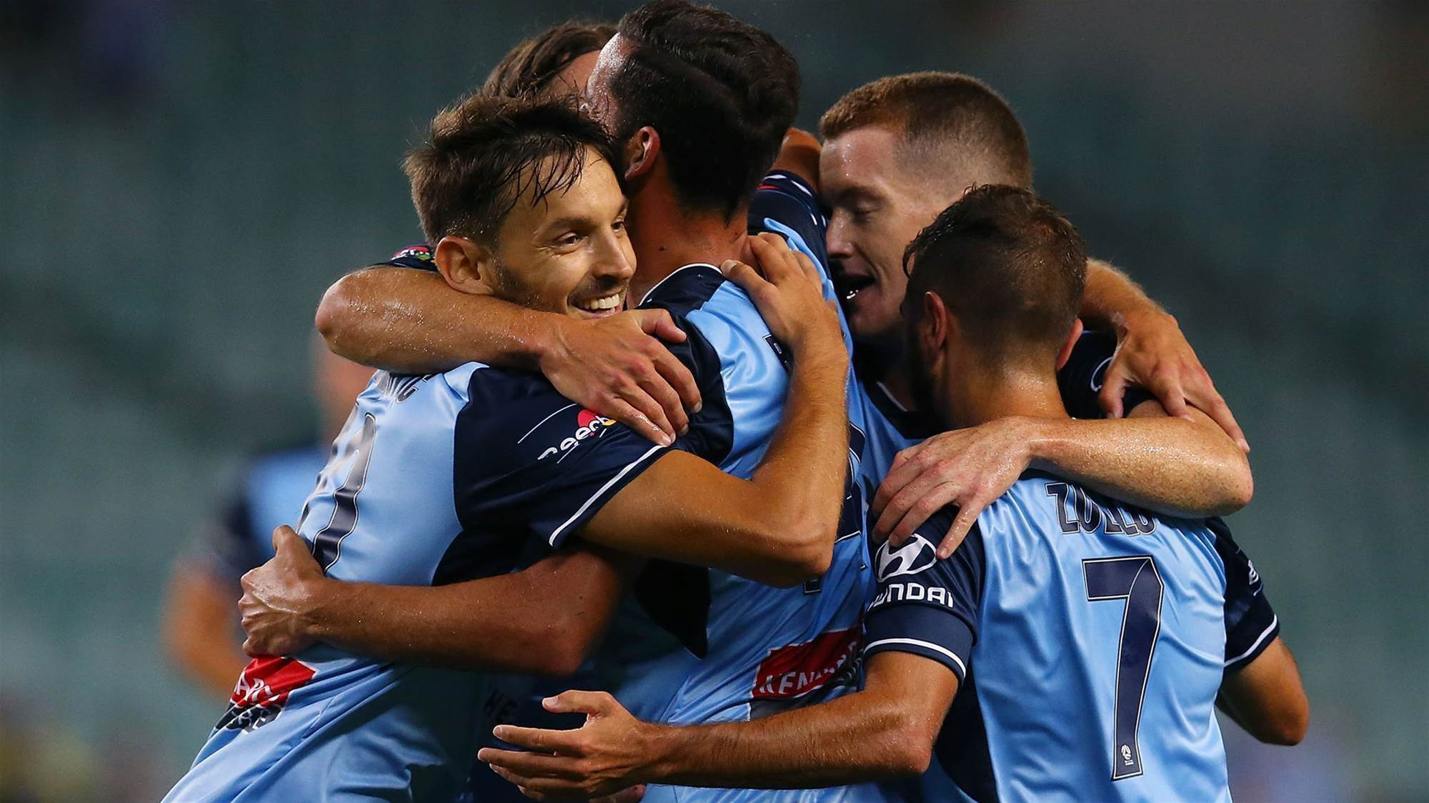 Six-goal Sydney FC so 'crazy good' it's scary - O'Neill