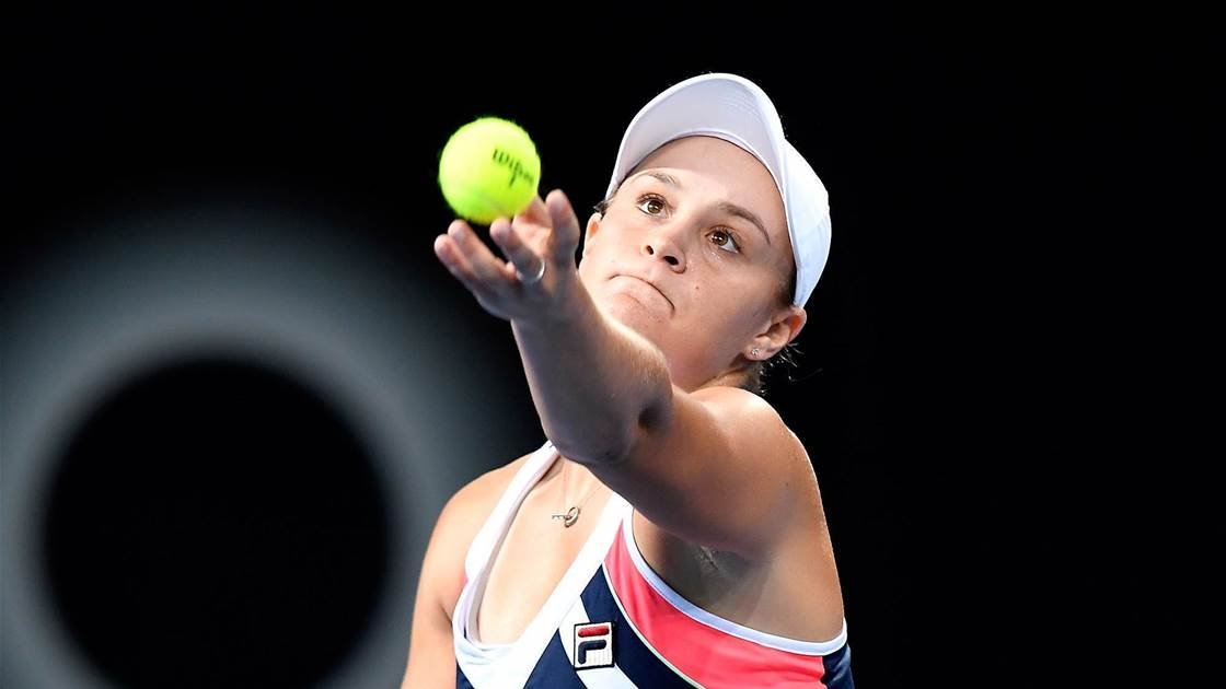 Barty through to semis but Stosur run ends