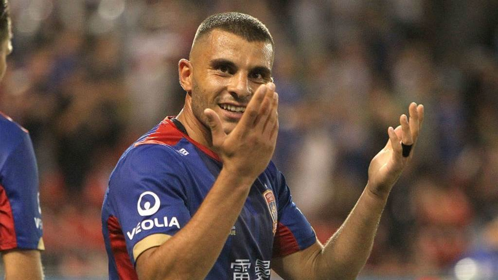 Nabbout: I'll play anywhere for the Roos, I'll play in goals if I have to!
