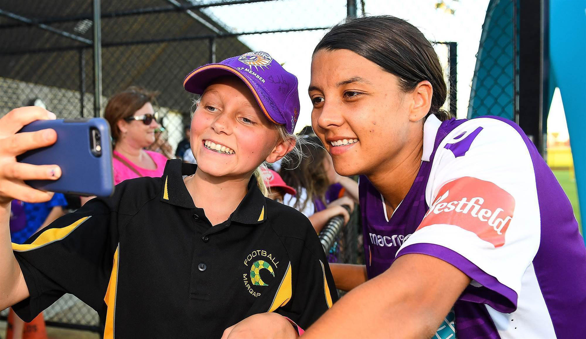 Sam Kerr named Young Australian of the Year