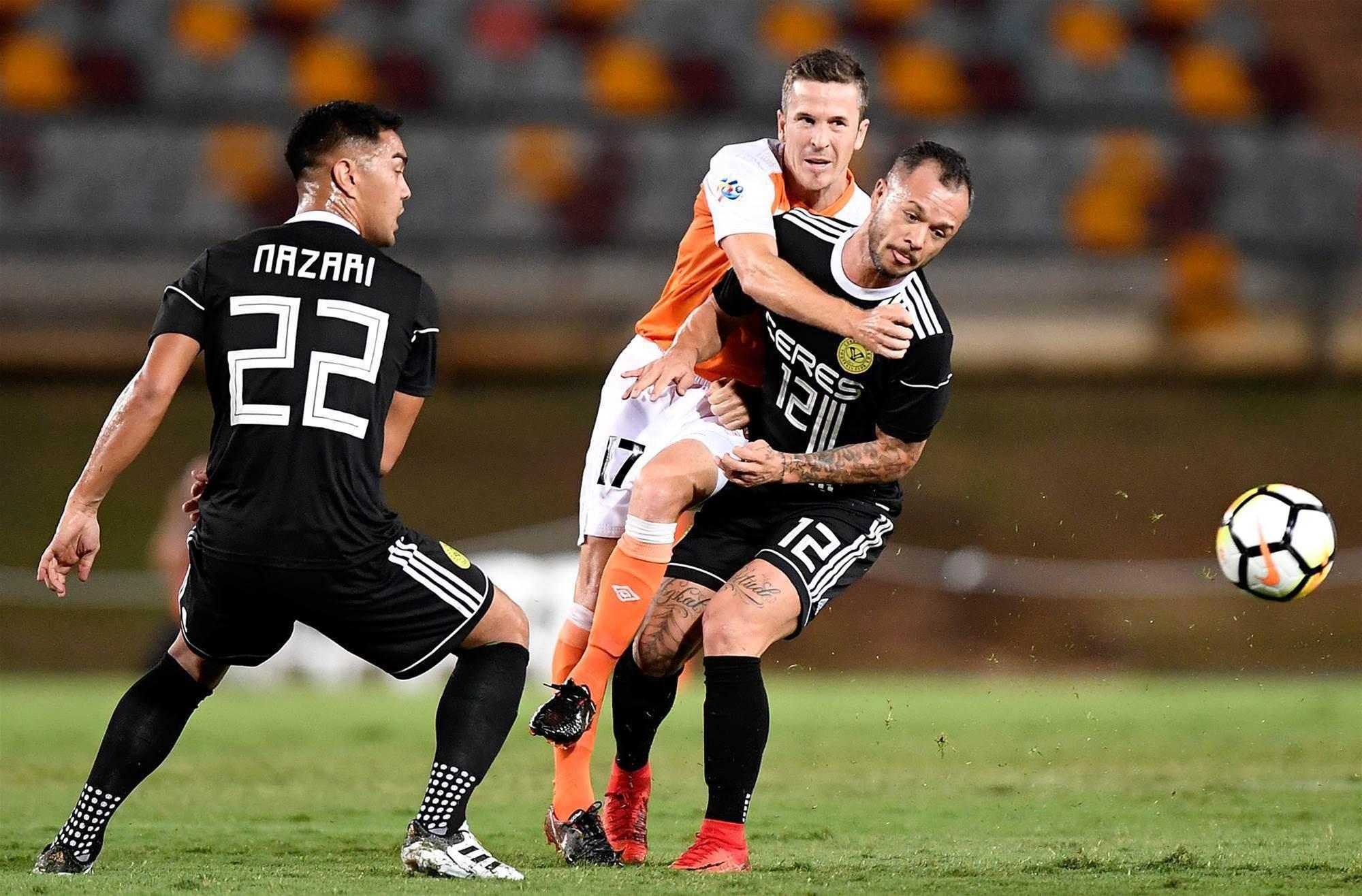 'Truly embarrassing': Bosnich slams jersey farce as Ceres-Negros stun Brisbane Roar