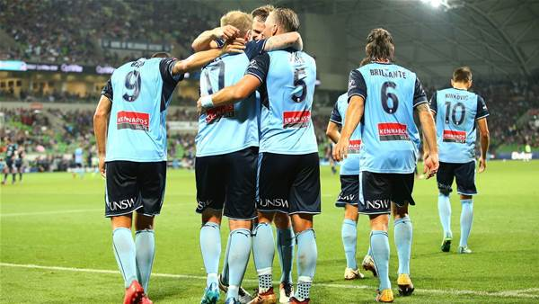 Melbourne Victory tried to win it in the first 20 minutes, Sydney FC had other ideas - Carney