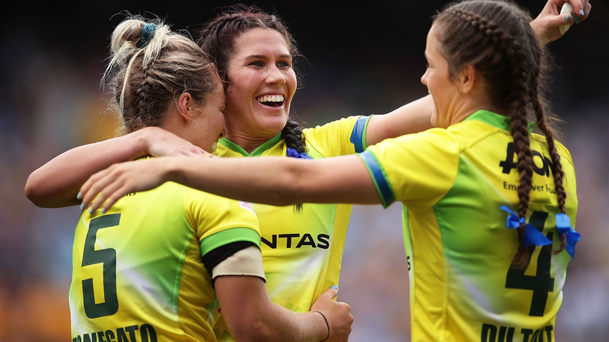 No pressure on Aussie 7s after Rio