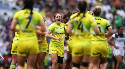 Aussies on fire in World Rugby Sevens