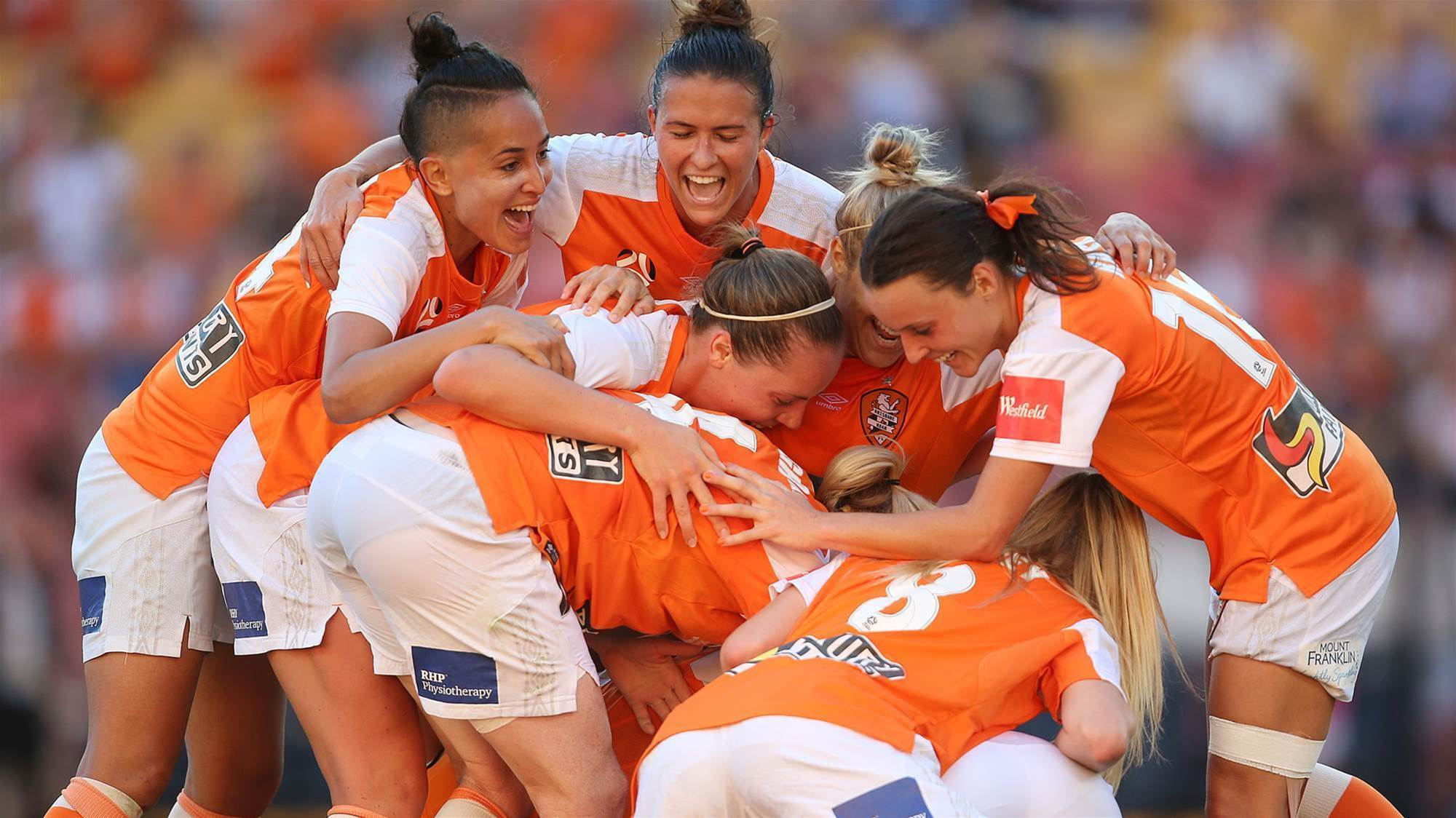 Brisbane Roar romp to W-League premiership triumph