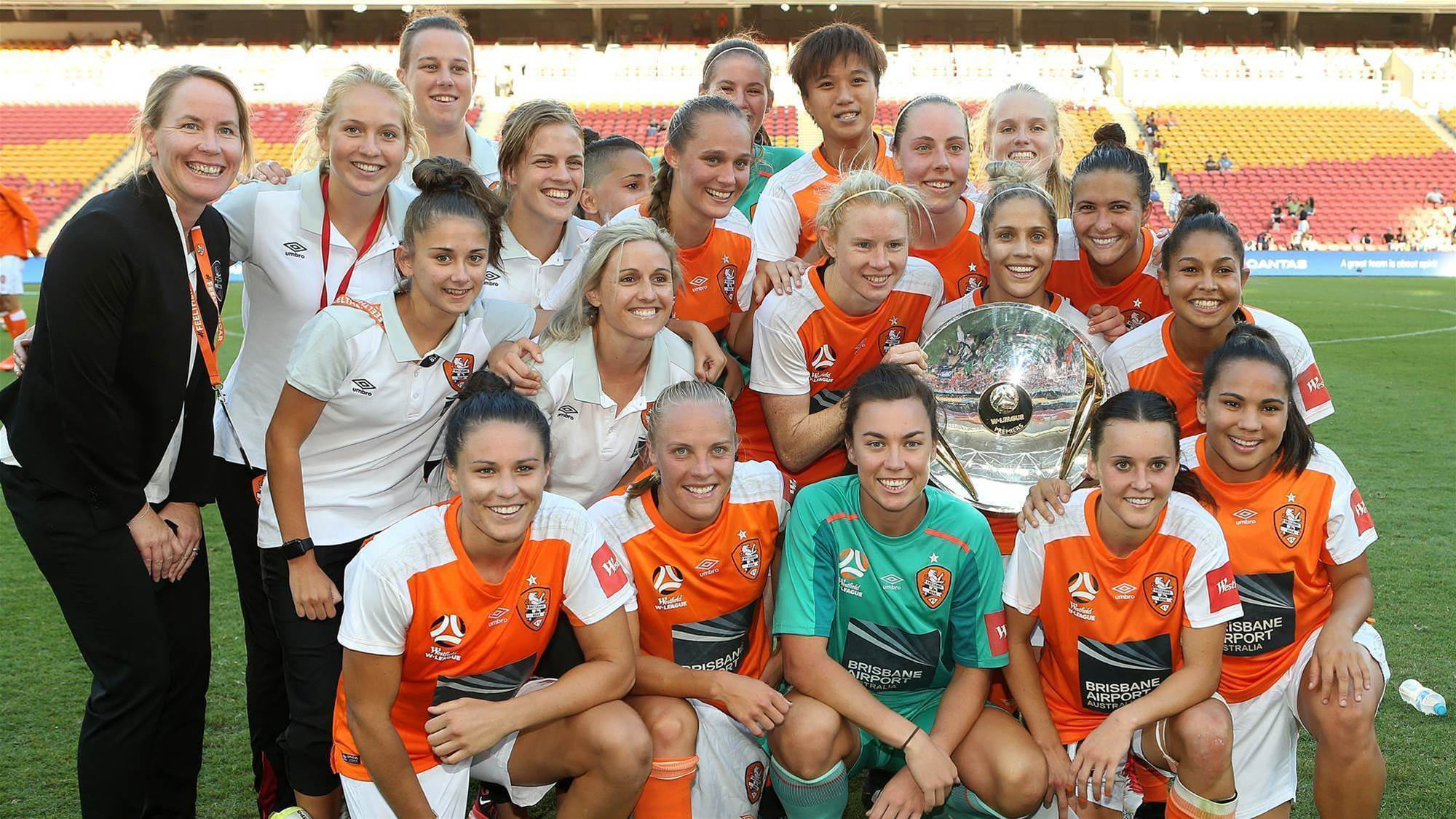 Brisbane Roar win third Premiership
