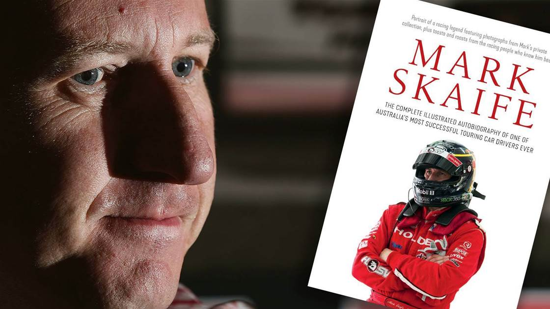 'It went along on its roof for so long that it started to wear into my helmet' - Skaife looks back on a life on the road