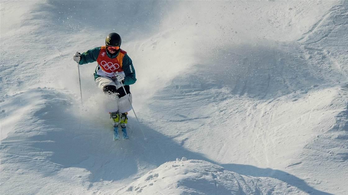 Aussie mogul skiers shine