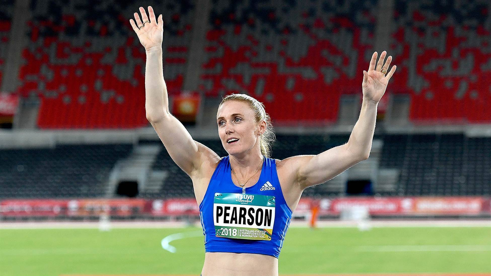 Pearson named co-captain of athletics Games team