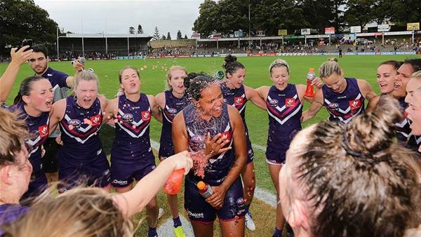 McGuire steals show in AFLW