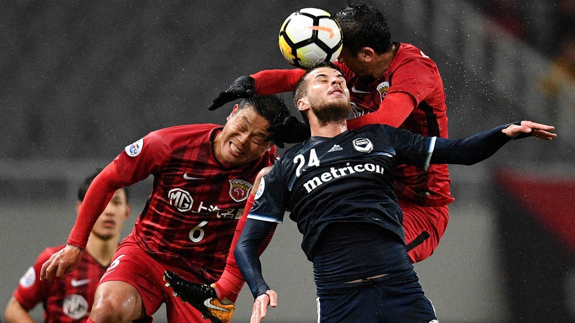 Shanghai give Victory the full Brazilian