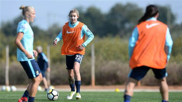 Crummer focusing on Algarve Cup