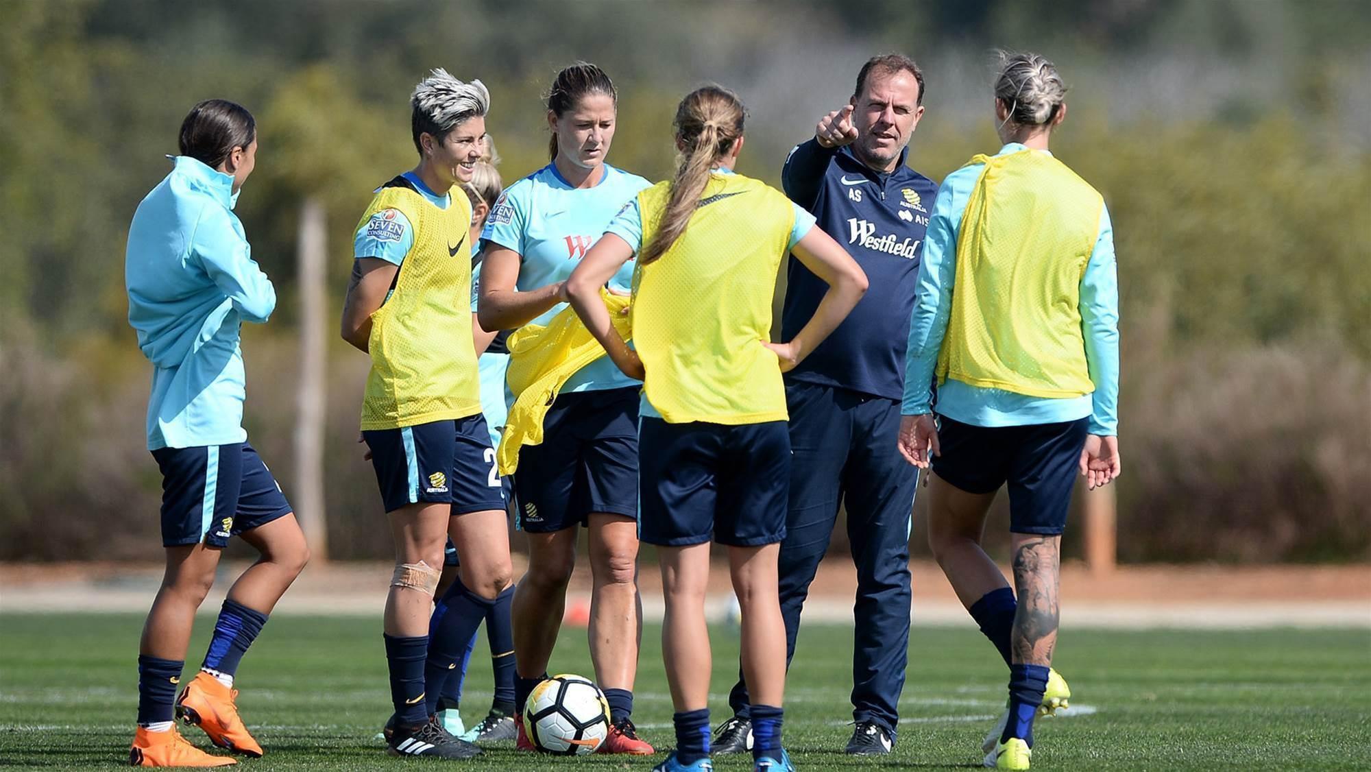 Matildas at the Algarve Cup