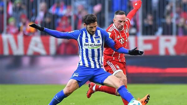 Leckie set for Hertha return after injury