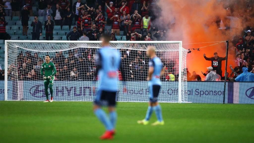 Will FFA punish flare-wielding Wanderers fans?