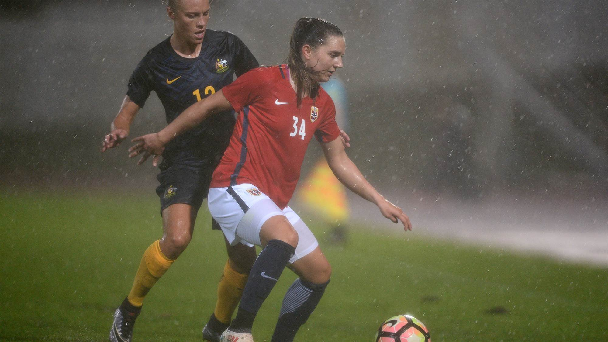 The Matildas take points against Norway