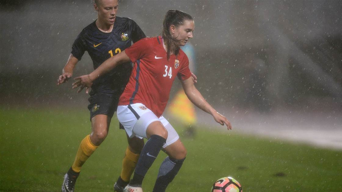 The Matildas take points against Norway