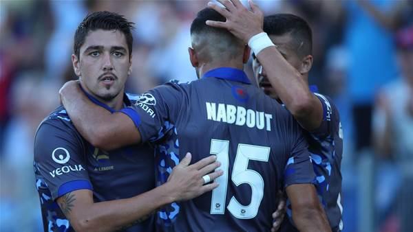 Jets slay Sydney off Nabbout of J-League target