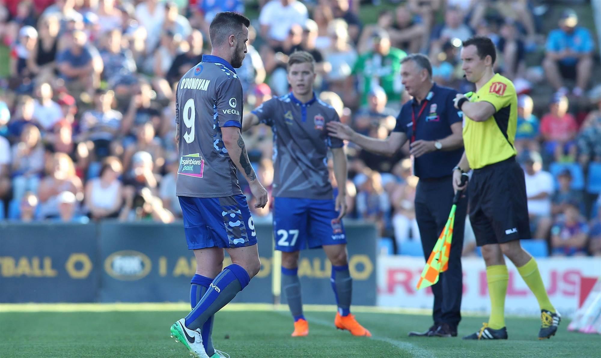 O'Donovan cops two match ban