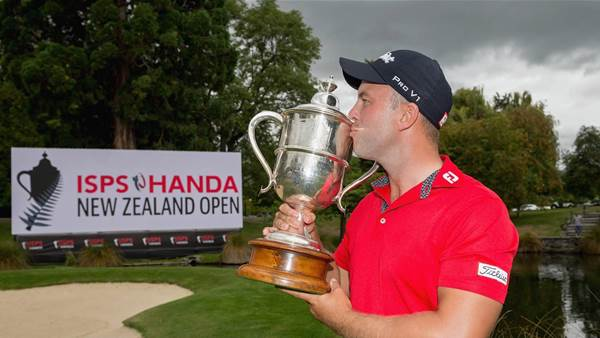 Nisbet storms home to steal NZ Open