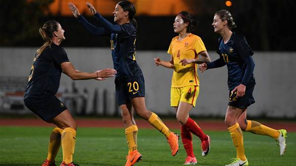 Matildas into bronze medal match