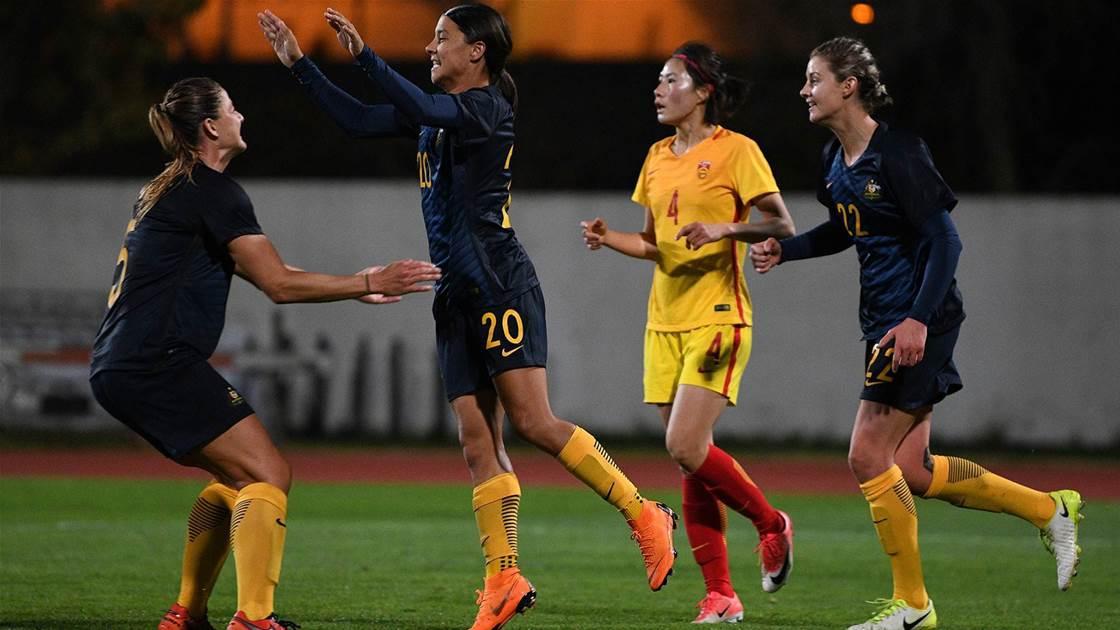 Matildas into bronze medal match