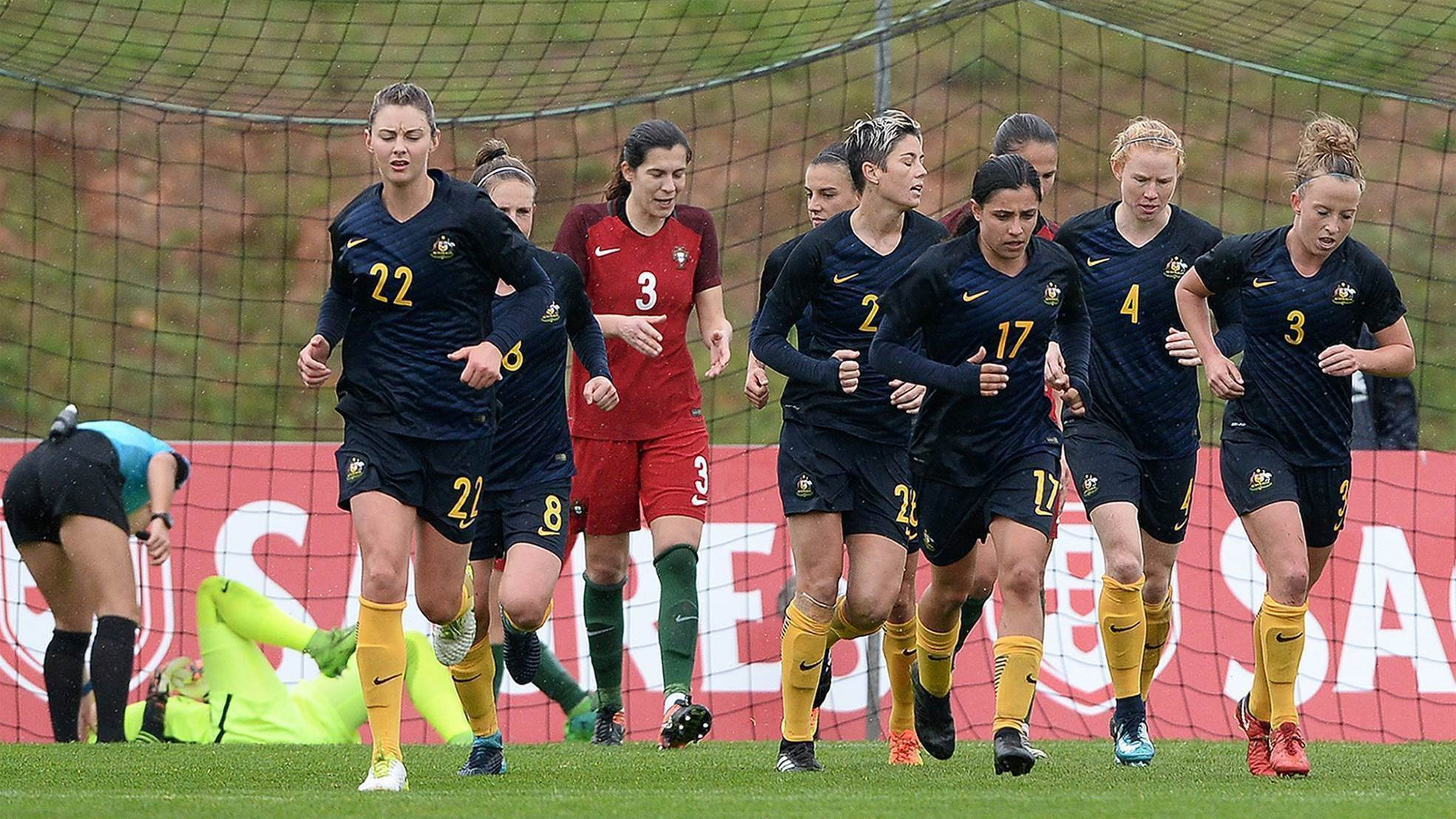 Matildas finish fourth at the Algarve Cup