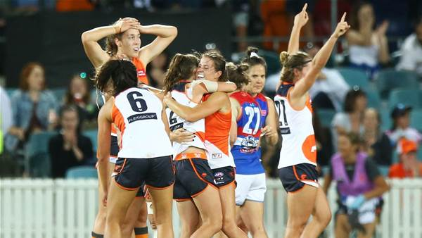 Giants joins VFLW...well kind of
