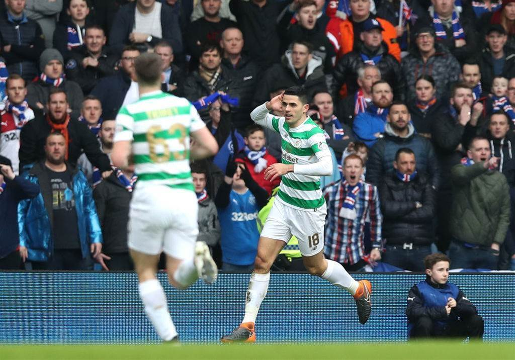 Rogic nets stunner in Old Firm