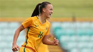 Young Matildas win over defensive Lebanon