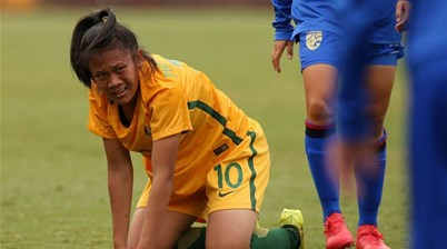 Escaping violence to Young Matildas glory