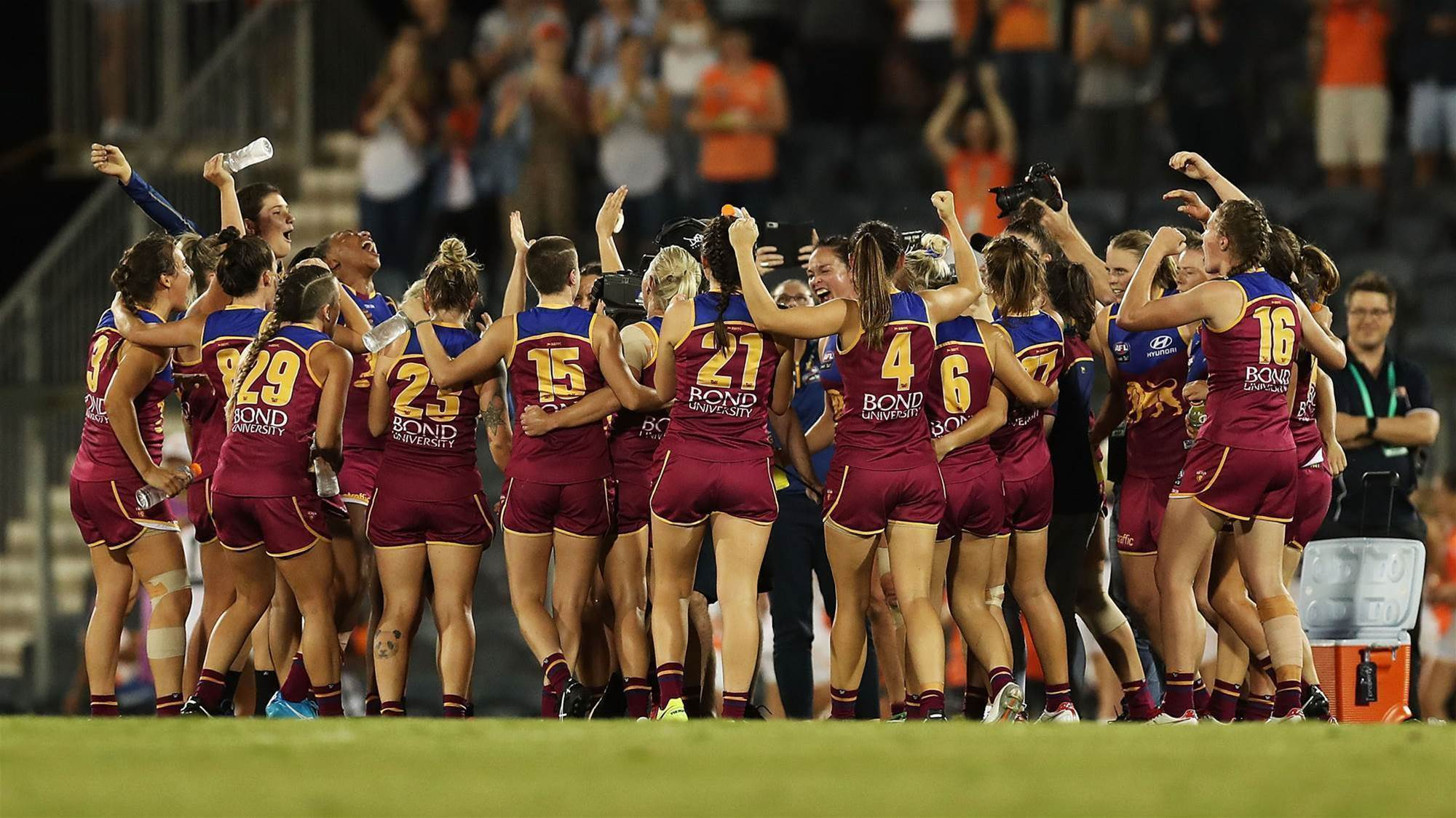 Lions through to their second grand final