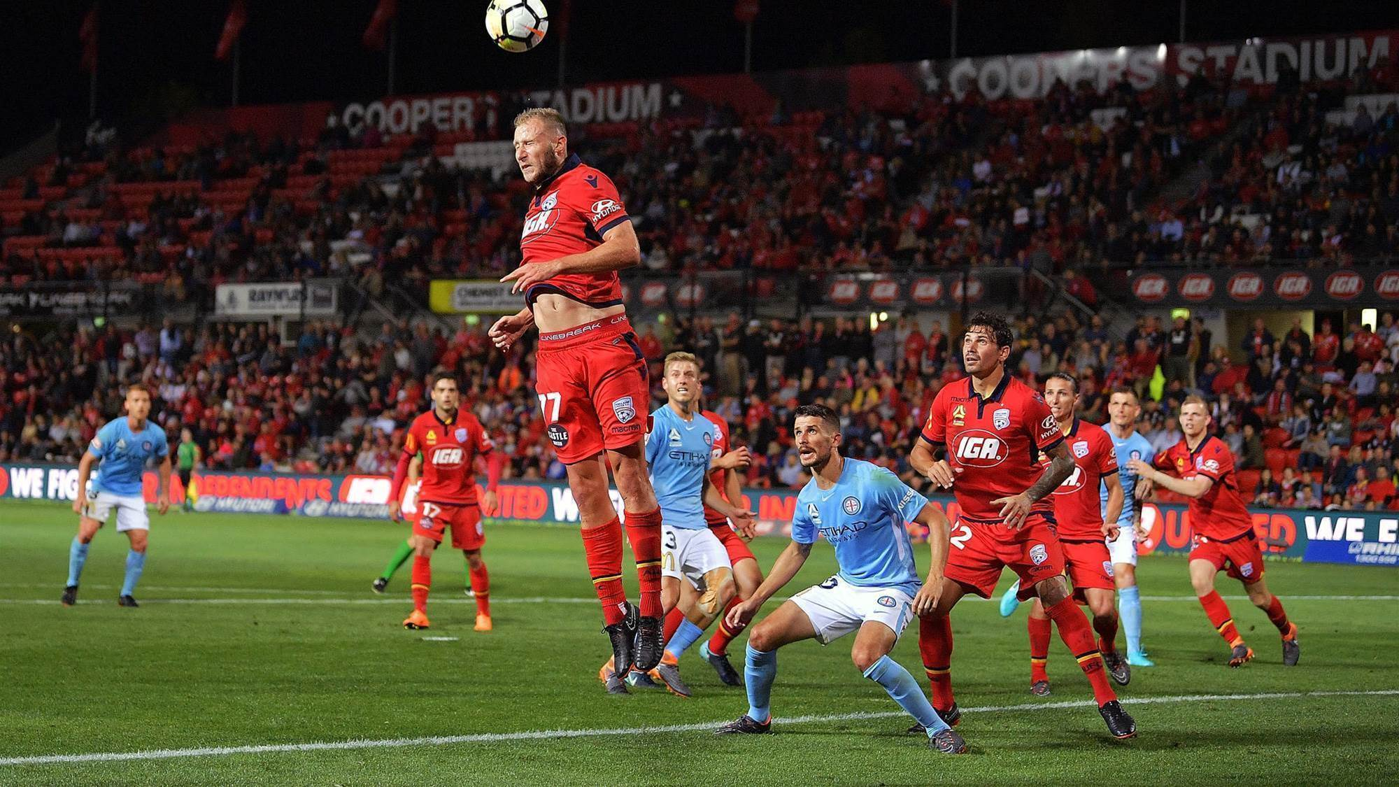 Adelaide United v Melbourne City player ratings