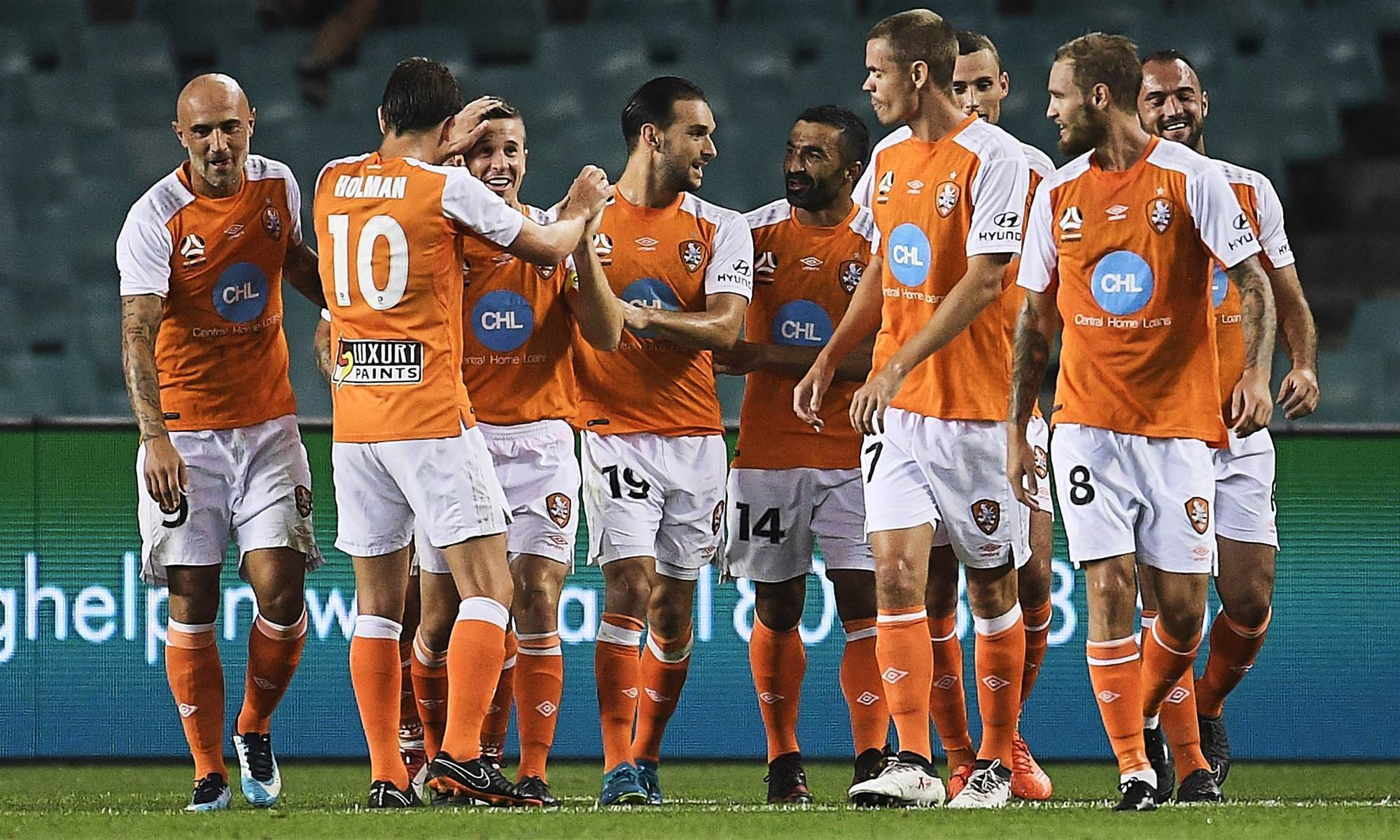 Aloisi sees 'sunshine' after Brisbane burst Sky Blue bubble