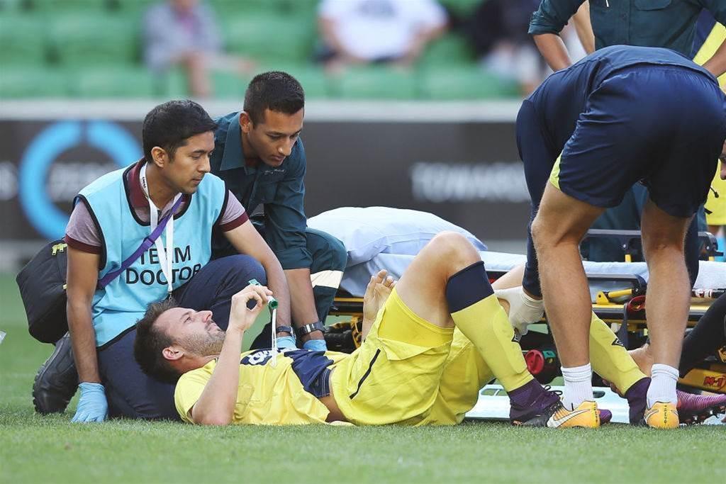 Golec suffers ugly broken leg