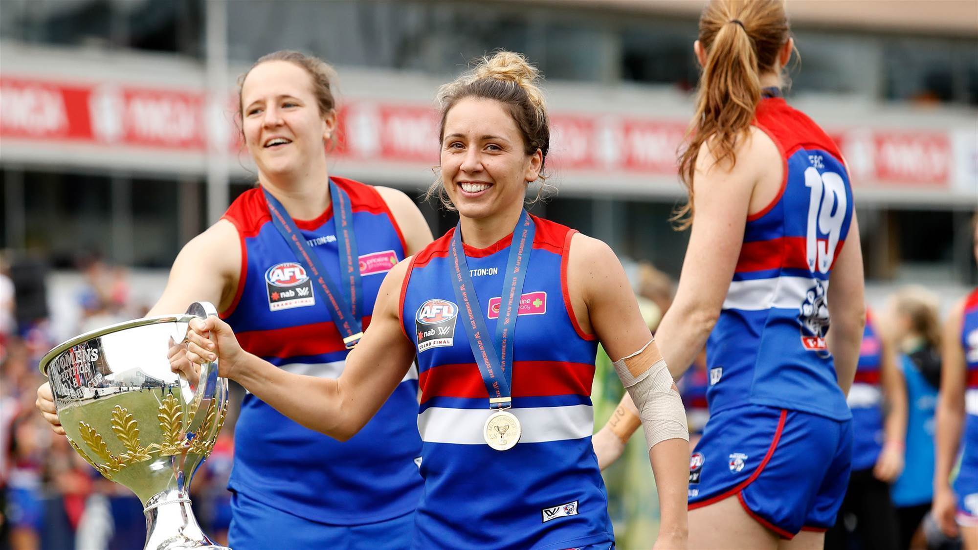 Historic CBA for AFLW