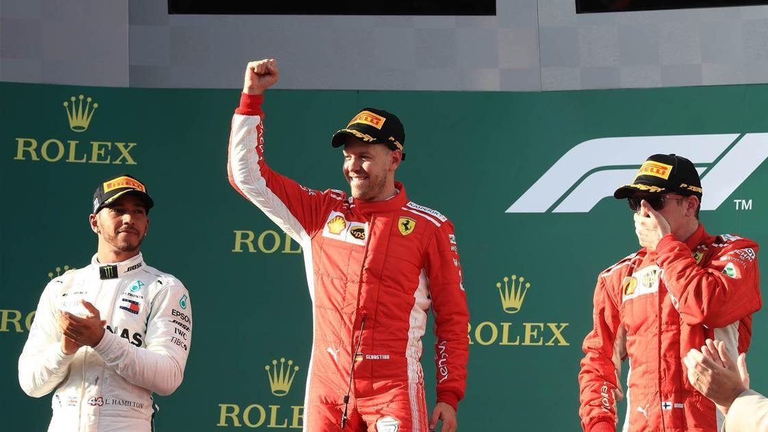 Vettel downs Hamilton in Melbourne amid Safety Car farce