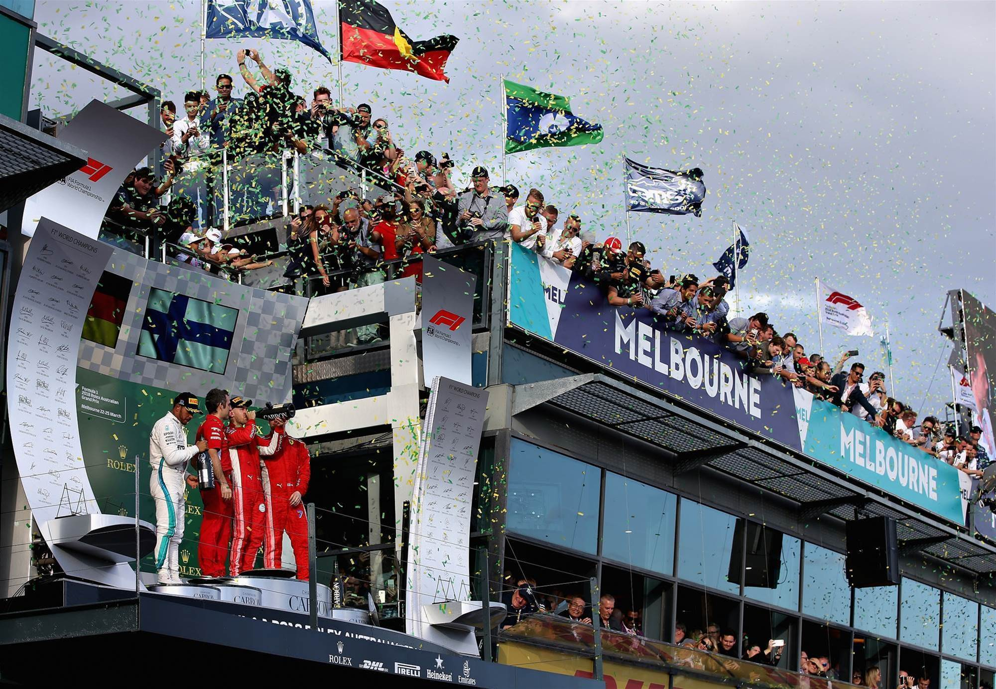 Melbourne to host F1 pre-season launch