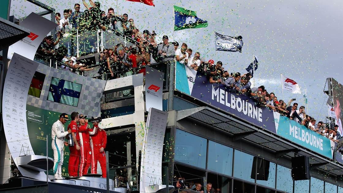 Melbourne to host F1 pre-season launch