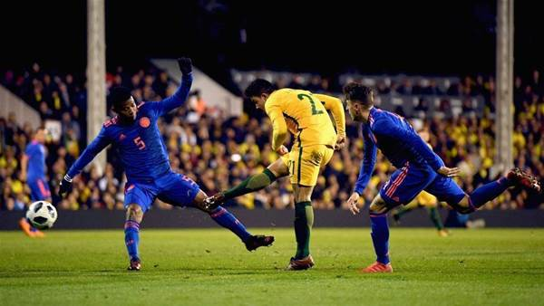 """""""I can't put into words how I feel"""" - Socceroos hold Colombia"""