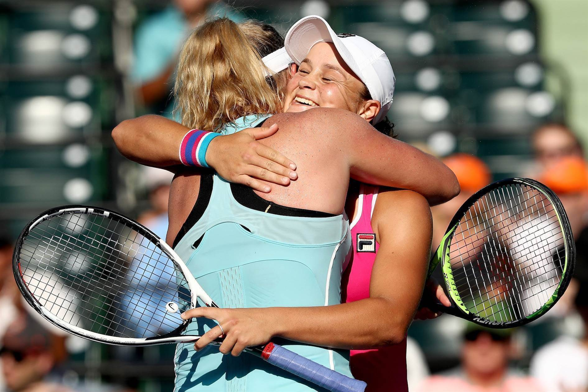 Barty and CoCo through to doubles semis