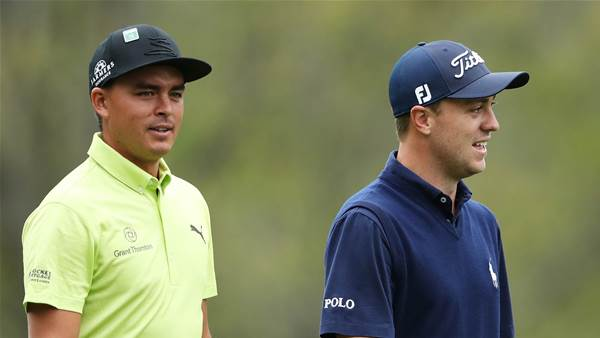 Three-way tie for lead in Phoenix Open