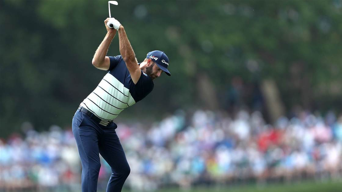 Johnson issues Masters warning to rivals